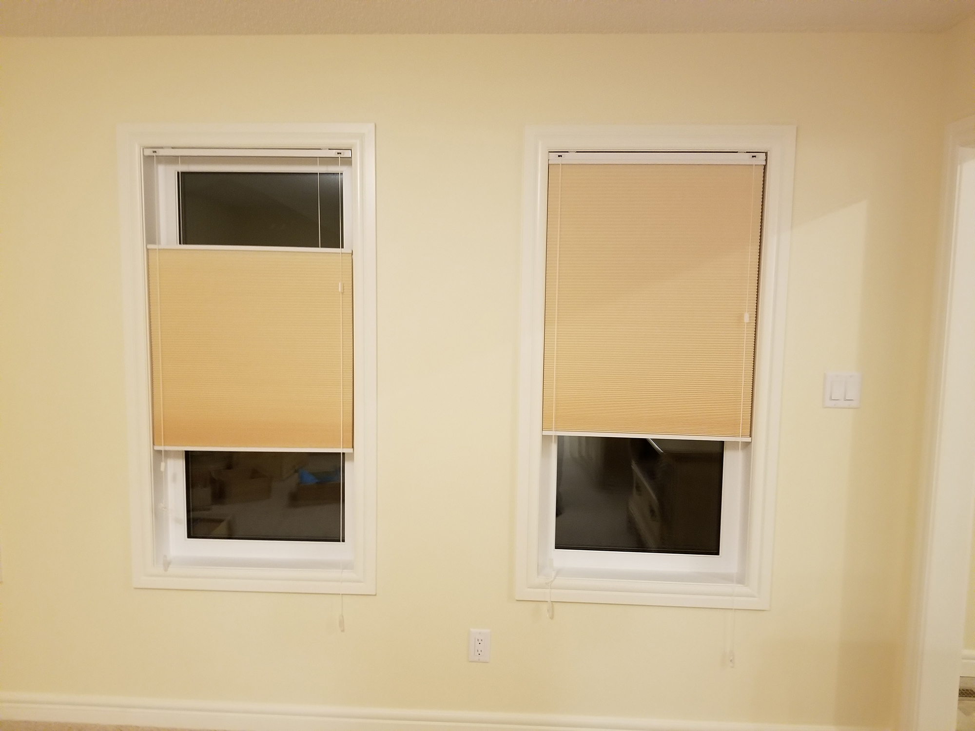 The Blind Spot Honeycomb Blinds